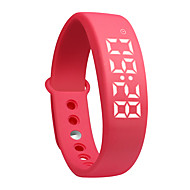 tanie Inteligentne zegarki-DMDG W5P Inteligentna bransoletka Inteligentny zegarekWodoszczelny Długi czas czuwania Spalone kalorie Krokomierze Rejestr ćwiczeń