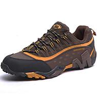 Χαμηλού Κόστους Παπούτσια για πεζοπορία-Ανδρικά Παπούτσια Δερμάτινο Άνοιξη Καλοκαίρι Φθινόπωρο Χειμώνας Ανατομικό Αθλητικά Παπούτσια Πεζοπορία για Αθλητικό Causal Work & Safety