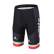 Miloto Bermudas Acolchoadas Para Ciclismo Unissexo Moto Shorts Acolchoados Compressão Tapete 3D Reduz a Irritação Elastano LYCRA®