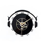 Moderno/Contemporâneo Tradicional Casual Escritório/Negócio Férias Música Inspiracional Família Amigos Desenho Animado Relógio de parede,