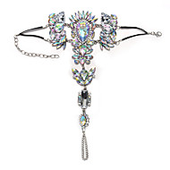 女性 アンクレット/ブレスレット 合成宝石類 合金 ファッション ボヘミアスタイル ジュエリー 用途 パーティー カジュアル