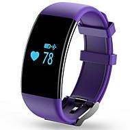 tanie Inteligentne zegarki-Inteligentne Bransoletka Ekran dotykowy Pulsometr Wodoszczelny Spalone kalorie Krokomierze Śledzenie odległości Długi czas czuwania