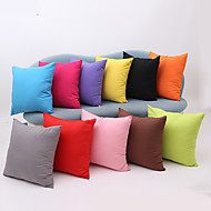 cheap Pillow Covers-1 pcs Cotton Pillow Case, Solid Traditional/Classic Modern/Contemporary