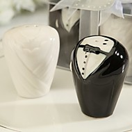 cheap Practical Favors-Beter Gifts® Love Birds Salt and Pepper Shakers Wedding Favors