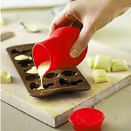 billige Bakeredskap-Måling Kopper Og Skjeer For Kake For Is For Sjokolade For Cupcales For Godteri spirende Silikon Gør Det Selv Høy kvalitet Miljøvennlig