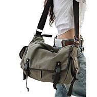 Women Bags All Seasons Canvas Shoulder Bag for Casual Black Gray