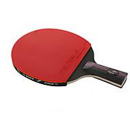Ping Pang/탁구 라켓 Ping Pang 탄소 섬유 긴 핸들 기타 1 라켓 3 탁구공 1 탁구 가방