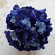 1 Gren Tørrede Blomster Azalea Bordblomst Kunstige blomster