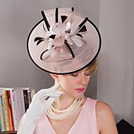 עור מפגשים / כובעים / ביגוד לראש עם פרחוני 1pc חתונה / אירוע מיוחד / בָּחוּץ כיסוי ראש