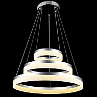 cheap Chandeliers-Tiffany Rustic/Lodge Vintage Island Country Traditional/Classic Modern/Contemporary LED Chandelier Downlight For Living Room Bedroom