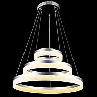 billige Takbelysning og vifter-Sirkelformet Lysekroner Nedlys Andre Metall Akryl LED 110-120V / 220-240V Varm Hvit / Kald Hvit Pære Inkludert / Integrert LED