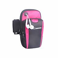 Pásek na ruku Mobilní telefon Bag pro Outdoor a turistika Lezení Cyklistika / Kolo Spor Çantaları Voděodolný Lehká váha Prodyšné Taška na běh Samsung Galaxy S6 iPhone 5C iPhone 4 / 4S Nylon EVA Unisex