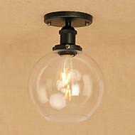 billige Taklamper-Anheng Lys Omgivelseslys - Mini Stil LED designere, Vintage Globus Land, 110-120V 220-240V Pære Inkludert