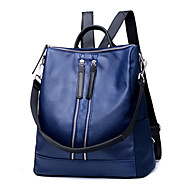 Women Bags All Seasons PU Backpack Rivet for Event/Party Formal Outdoor Office & Career Blue Black Red