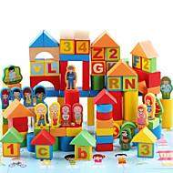Stavební bloky Vzdělávací hračka Hračky Hrad Děti Dětské 200 Pieces