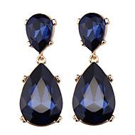 Dame Dråbeøreringe Smykker Mode Boheme Stil Euro-Amerikansk Syntetiske ædelstene Smykker Smykker Til Bryllup Fest Speciel Lejlighed