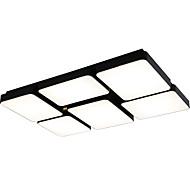 billige Taklamper-Ecolight™ Takplafond Omgivelseslys Malte Finishes Metall LED 110-120V / 220-240V Varm Hvit / Hvit LED lyskilde inkludert / Integrert LED