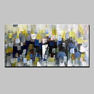 Handgeschilderd abstract kleurstuk olieverfschilderij op canvas muur kunst foto voor huis inrichting klaar om te hangen