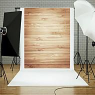 5x7ft trevegg gulv fotografering bakgrunn studio rekvisitter blå bord tema nytt