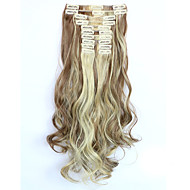 Clip-in synthetisch Haarextensions 150 Haarextensies
