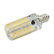 billige Kornpærer med LED-5W 450-500lm E12 LED-kornpærer T 80 LED perler SMD 5730 Dekorativ Varm hvit Kjølig hvit 85-265V 220-240V