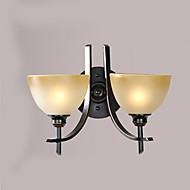 billige Vegglamper-ac 12 st 12 12 ført integrert moderne / moderne moderne / samtids male funksjon for pære inkludert, omgivende lys vegg sconceswall