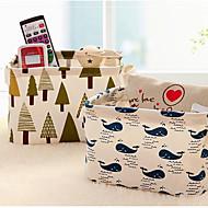 1pcs 20 * 16 * 13 centímetros linda mesa de armazenamento de armazenamento de jóias caixa de jóias cosméticos papelaria organizador caso