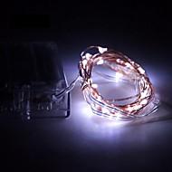 4.5v 5m 50led 3 aa batterij aangedreven decoratieve led zilveren draad fairy lichtslingers voor vakantie bruiloft en feesten