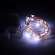 3W ストリングライト 200 lm バッテリー V 5 m 50 SMD LEDの ウォームホワイト ホワイト RGB レッド イエロー ブルー グリーン パープル ピンク
