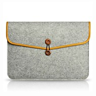 "Sleeve for Macbook Air 11""/13"" MacBook Pro 13""/15"" with Retina display Solid Color Textile Material Envelope Bag Notebook Case"