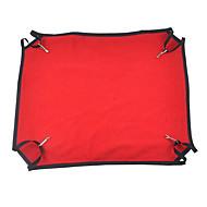 ネコ 犬 ベッド ペット用 毛布 携帯用 高通気性 折り畳み式 ソフト イエロー レッド ピンク ペット用