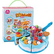 preiswerte Verkleiden & Rollenspiele-Spielzeug-Küchen-Sets Spielessen Tue so als ob du spielst Spielzeuge Kreisförmig Frucht Kuchen Dessert Ausstechform für Kuchen & Plätzchen