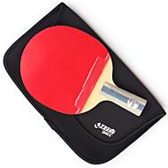 5 Sterne Ping Pang/Tischtennis-Schläger Ping Pang Holz Kurzer Griff Pickel