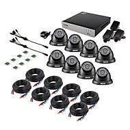 billige DVR-Sett-zosi® 8ch 1080n hdmi dvr 1280tvl 720p hd utendørs sikkerhetssystem cctv videoovervåkning 1tb kamera sett