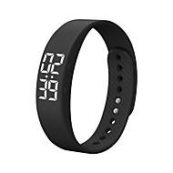 billige Smartklokker-Smart armbånd iOS / Android Vannavvisende / Kalorier brent / Pedometere Aktivitetsmonitor / Stoppeklokke / Finn min enhet / Vekkerklokke