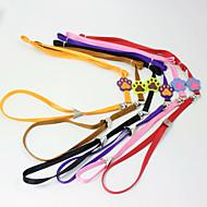 犬 リード ハンズフリーリーシュ DIYサプライ 安全用具 しつけ用品 ソリッド 虹色 カートゥン 幸福 ファブリック ナイロン 合金