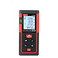 Jednotka ut392b ruční digitální 100m 635nm laserová vzdálenost měřidla s vzdáleností&Měření úhlu (1,5v aaa baterie)
