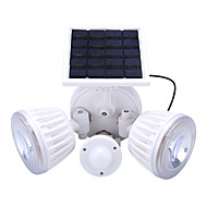 cheap LED Flood Lights-4.5W LED Solar Lights Rechargeable Easy Install Waterproof Decorative Outdoor Lighting Natural White Red <5V