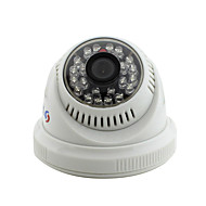 Yanse® cctv nadzór domowy ir cut dome security camera - 24pcs diody podczerwone