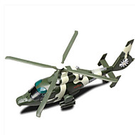 ieftine Toy Helicopters-Jucarii Μοντέλα και κιτ δόμησης Elicopter Jucarii Pătrat Plastic Bucăți Cadou