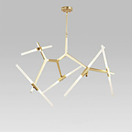 billige Udsalg-QINGMING® 10-Light Sputnik Lysekroner Omgivelseslys - Mini Stil, LED, 110-120V / 220-240V, Varm Hvit / Hvit, Pære Inkludert / G9 / 15-20㎡