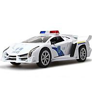 Leluautot Lelut Rakennusajoneuvo Poliisiauto Ambulanssi Lelut Neliö Metalliseos Pieces Lahja