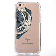 Käyttötarkoitus iPhone X iPhone 8 kotelot kuoret Läpinäkyvä Kuvio Takakuori Etui Koira Pehmeä TPU varten Apple iPhone X iPhone 8 Plus
