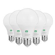 billige Globepærer med LED-YWXLIGHT® 5pcs 12W 1100-1200lm E26 / E27 LED-globepærer 24 LED perler SMD 2835 Dekorativ Varm hvit Hvit 100-240V