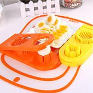 Cutter & Slicer For Egg Rozsdamentes acél Kreatív Konyha Gadget