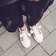 tanie Obuwie damskie-Damskie Obuwie Guma Lato Świecące buty Tenisówki na Casual White