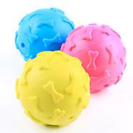 Игрушка для собак Игрушки для животных Шарообразные Жевательные игрушки Скрип Кость Для домашних животных