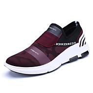 Herren-Sneaker-Büro Lässig Sportlich-Tüll-Flacher Absatz-Komfort-