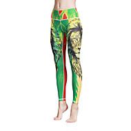 Yoga hlače Biciklizam Hulahopke Tajice Donji Quick dry Prozračnost Prirodno Visoka elastičnost Sportska odjeća Žene Yoga Pilates