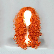 Naisten Pitkä Vaaleahiuksisuus perverssi Synteettiset hiukset Suojuksettomat Cosplay-peruukki Halloween Peruukki Carnival Peruukki puku